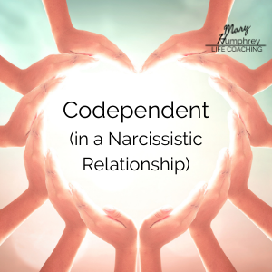 helping hands (codependent in a narcissistic relationship)