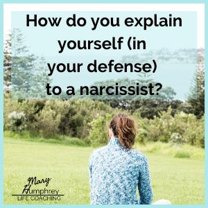 www.maryhumphreycoaching.com dealing with a narcisssist